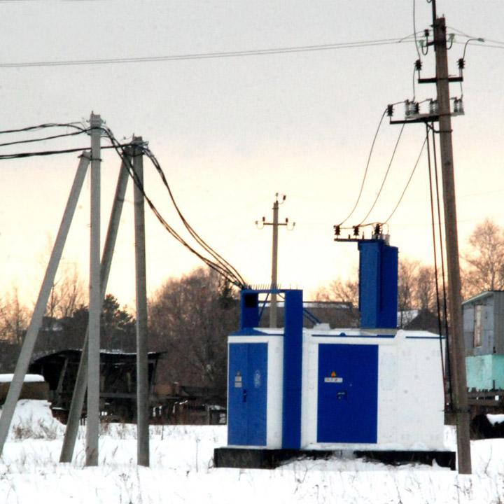 Электрификация города Отрадный