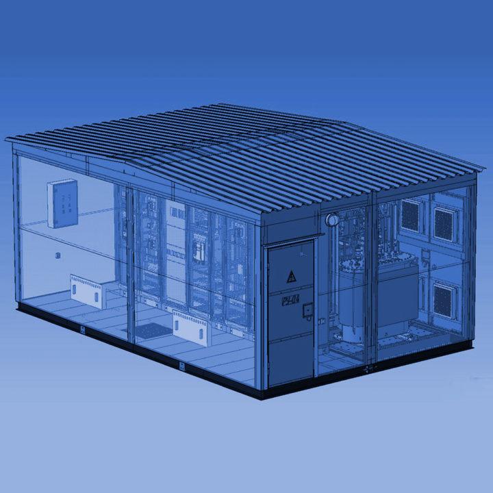 Проектирование КТП (комплексных трансформаторных подстанций)